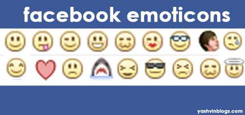 Facebook πως να πληκτρολογήσετε τα emoticons