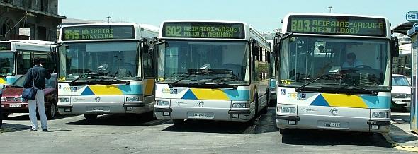 Λεωφορεία | Καλοκαιρινό πρόγραμμα 2012 - Τι αλλάζει στα δρομολόγια