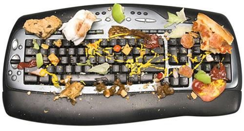 Πόσα μικρόβια έχει ένα πληκτρολόγιο;