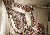 Yunwoo Choi | Κατασκευάζει γλυπτά από περιοδικά