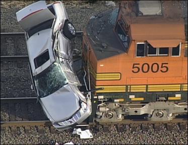 Train Crash Car Car Crash: Train Car C...