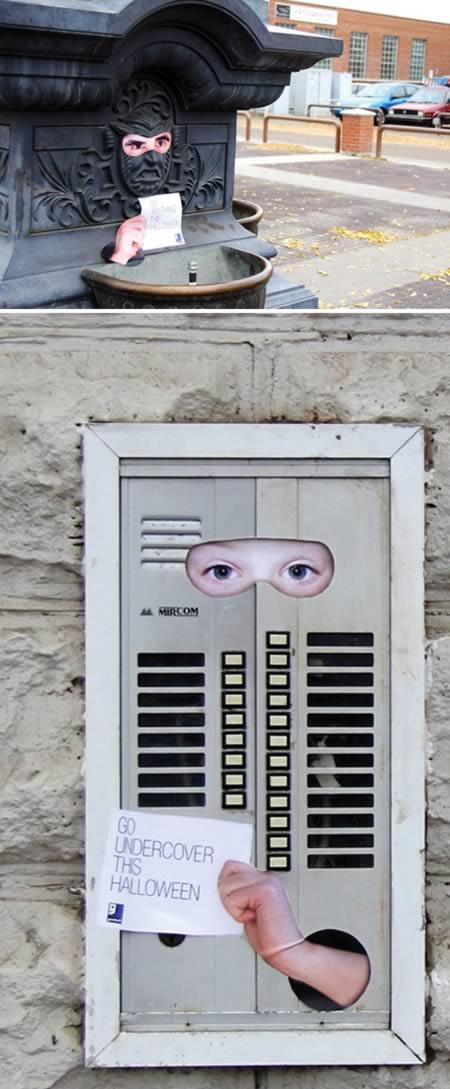 Διαφημίσεις που χρησιμοποίησαν street art!1