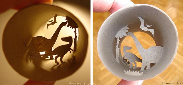 Τέχνη σε... χάρτινο ρολό τουαλέτας!9
