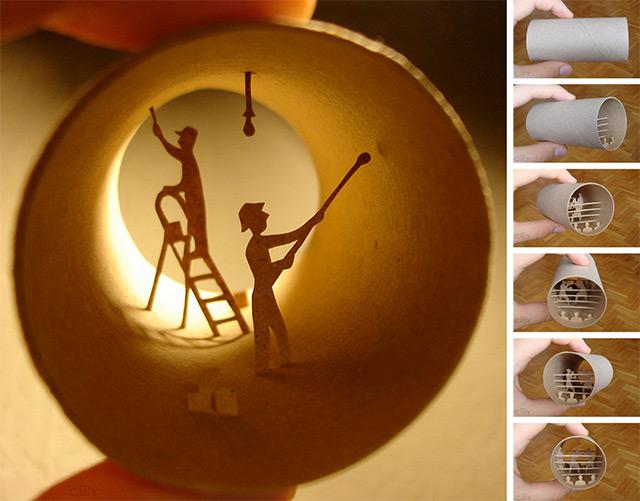 Τέχνη σε... χάρτινο ρολό τουαλέτας!8