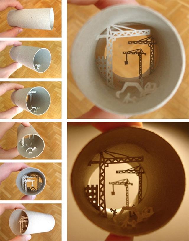Τέχνη σε... χάρτινο ρολό τουαλέτας!6