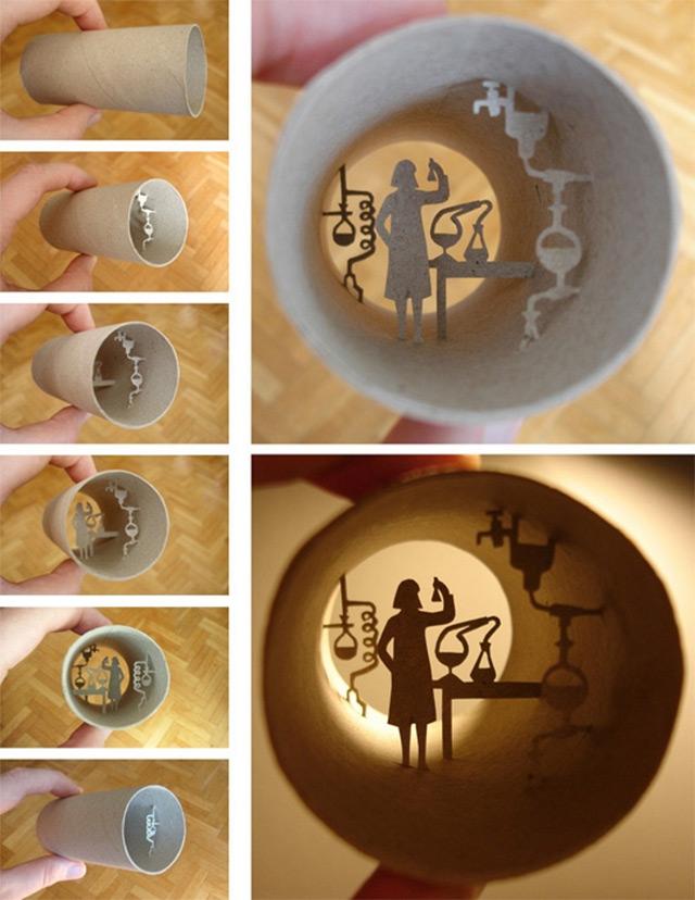 Τέχνη σε... χάρτινο ρολό τουαλέτας!5