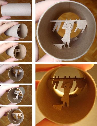 Τέχνη σε... χάρτινο ρολό τουαλέτας!4