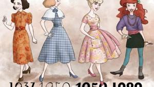 Snow White, Cinderella, Aurora και Ariel