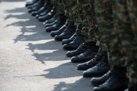 Η πρώτη μέρα στο στρατό
