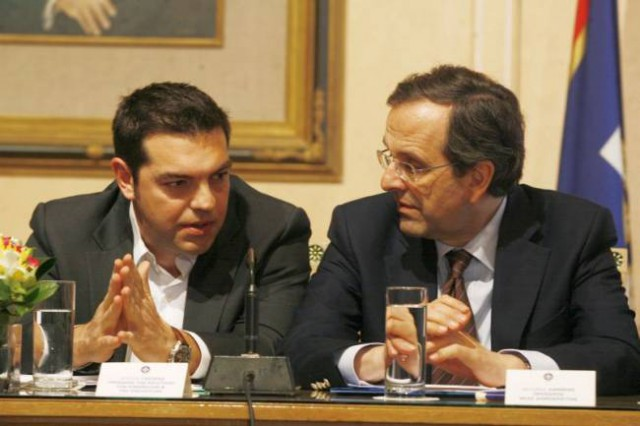 Antonis-Samaras-Alexis-Tsipras