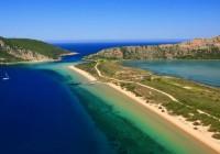 #Voidokilia_bay-beach-greece