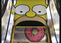 Κυλιόμενες σκάλες Simpsons