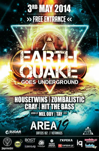 Earthquake Party (Poster)