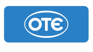 OTE logo blue plaisio