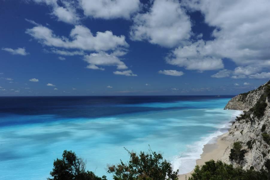 diaforetiko.gr : Egkremnoi Lefkada island Οι πιο όμορφες ελληνικές παραλίες! ..Ένα φωτογραφικό αφιέρωμα που ξεχειλίζει ομορφιά !!!