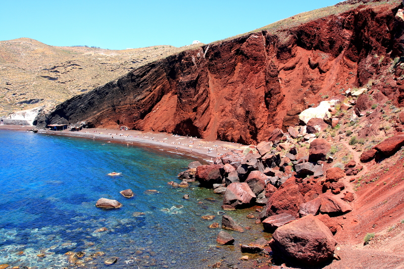 diaforetiko.gr : Red Beach of Akrotiri Santorini Οι πιο όμορφες ελληνικές παραλίες! ..Ένα φωτογραφικό αφιέρωμα που ξεχειλίζει ομορφιά !!!