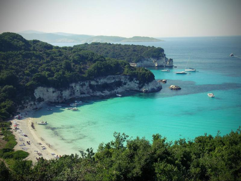 diaforetiko.gr : boutoumi beach paxoi Οι πιο όμορφες ελληνικές παραλίες! ..Ένα φωτογραφικό αφιέρωμα που ξεχειλίζει ομορφιά !!!