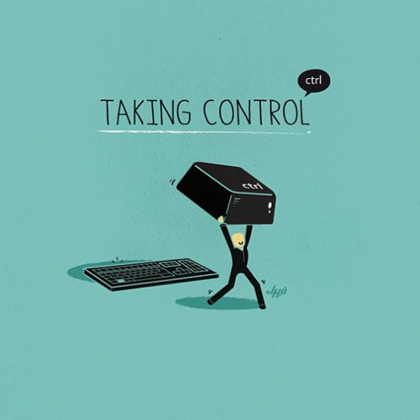control - 16 ξεκαρδιστικά λογοπαίγνια από… καθημερινά αντικείμενα! - σκιτσο, λογοπαίγνιο