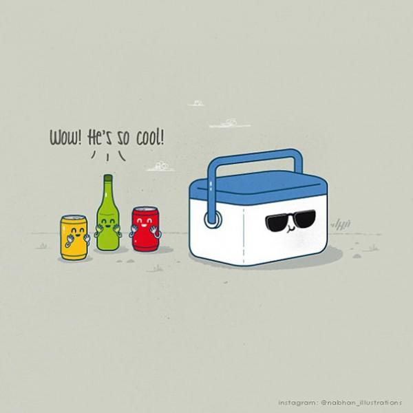 cool - 16 ξεκαρδιστικά λογοπαίγνια από… καθημερινά αντικείμενα! - σκιτσο, λογοπαίγνιο