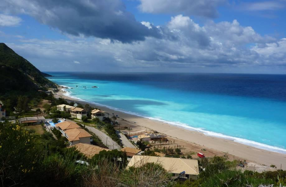 diaforetiko.gr : kathisma beach lefkada Οι πιο όμορφες ελληνικές παραλίες! ..Ένα φωτογραφικό αφιέρωμα που ξεχειλίζει ομορφιά !!!