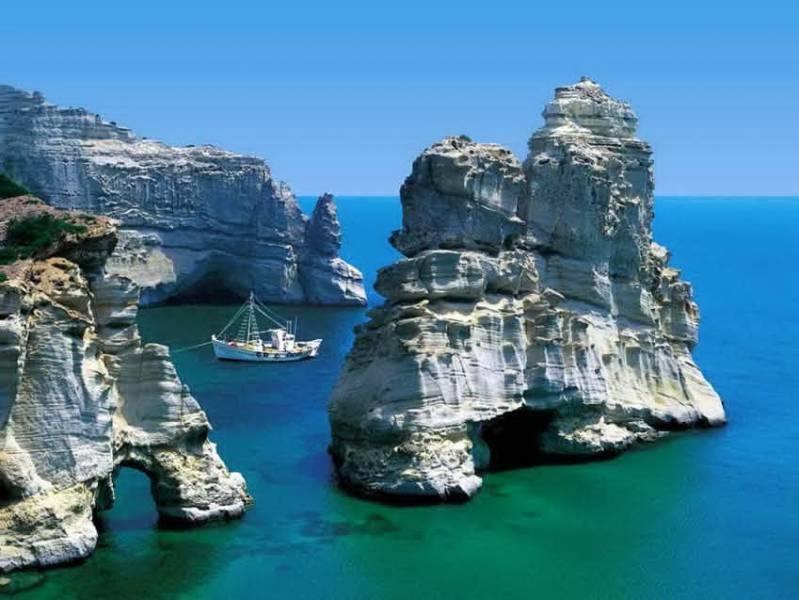 diaforetiko.gr : kleftiko mhlos Οι πιο όμορφες ελληνικές παραλίες! ..Ένα φωτογραφικό αφιέρωμα που ξεχειλίζει ομορφιά !!!