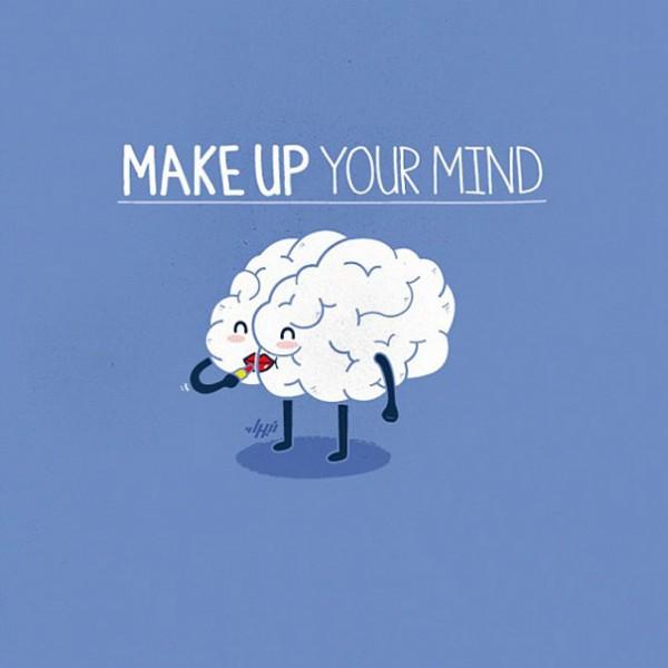 make up - 16 ξεκαρδιστικά λογοπαίγνια από… καθημερινά αντικείμενα! - σκιτσο, λογοπαίγνιο