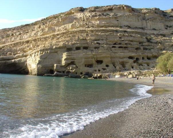 diaforetiko.gr : matala beach crete Οι πιο όμορφες ελληνικές παραλίες! ..Ένα φωτογραφικό αφιέρωμα που ξεχειλίζει ομορφιά !!!