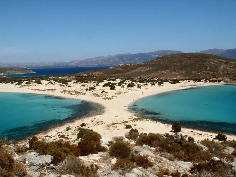 diaforetiko.gr : simos beach elafonhsos Οι πιο όμορφες ελληνικές παραλίες! ..Ένα φωτογραφικό αφιέρωμα που ξεχειλίζει ομορφιά !!!