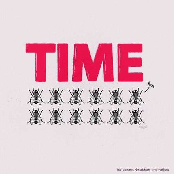 time - 16 ξεκαρδιστικά λογοπαίγνια από… καθημερινά αντικείμενα! - σκιτσο, λογοπαίγνιο