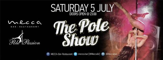 The pole show επιστρέφει @MECCA Bar-Restaurant