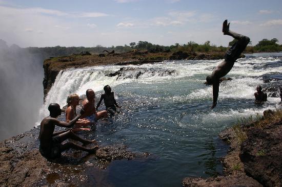 Devil 39 S Pool Victoria Falls Zambia