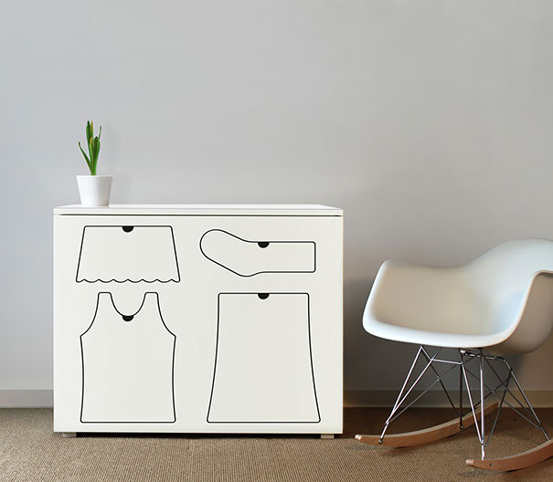 Dresser That Keeps Your Clothes In Their Places