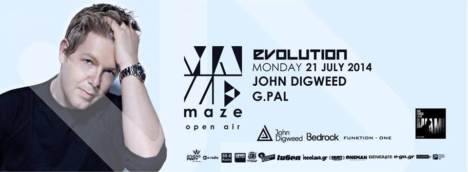 Maze - 21 July - John Digweed