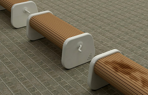 The Rolling Bench That You Can Use After Rain