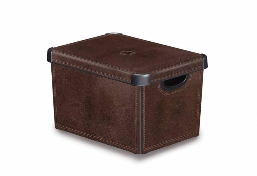 Κουτί αποθήκευσης Stockholm Curver Leather Large
