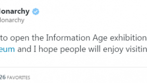 Το πρώτο tweet της βασίλισσας Ελισάβετ    neolaia.gr