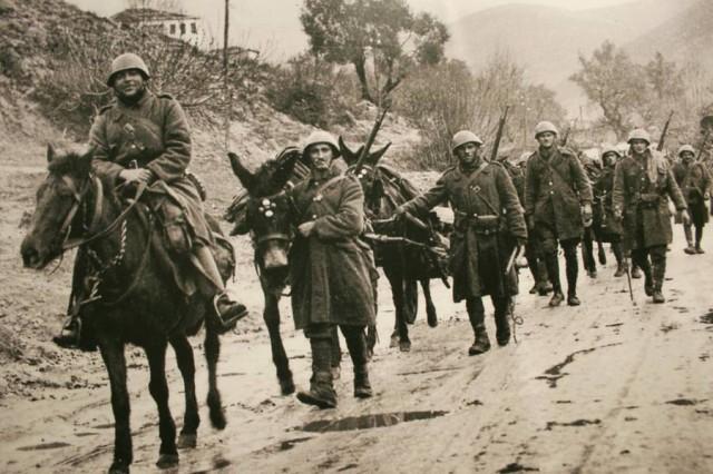 El día del NO de Grecia durante la Segunda Guerra Mundial Polemiko_Mouseio_Doc-640x426