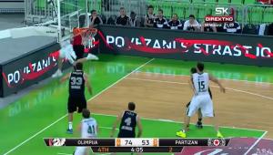 The most amazing basketball shot ever  Olimpija   Partizan 87 58   YouTube