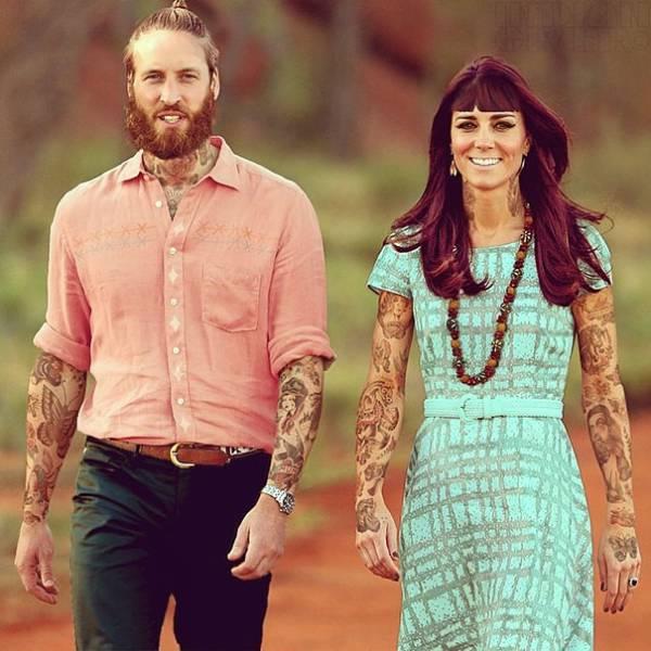 Καλλιτέχνης βάζει τατουάζ σε διάσημους μέσω photoshop