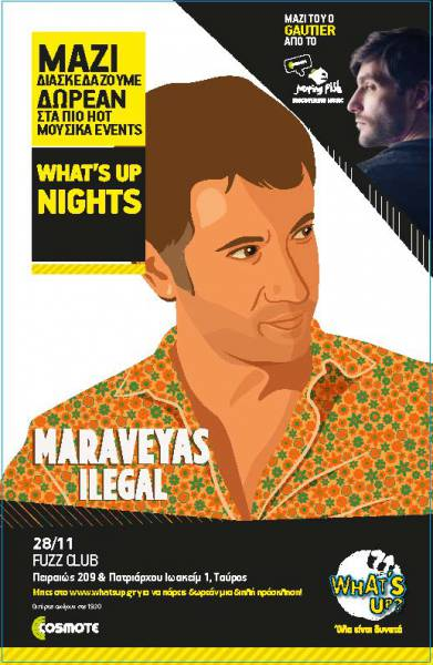 WHAT'S UP NIGHTS_Maraveyas