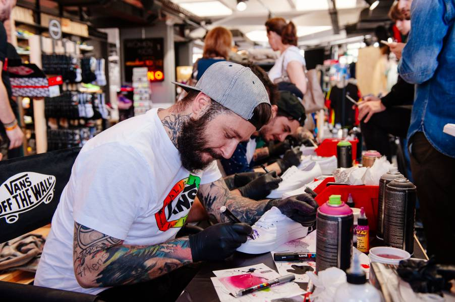 VANS_Dark side tattoo society in action