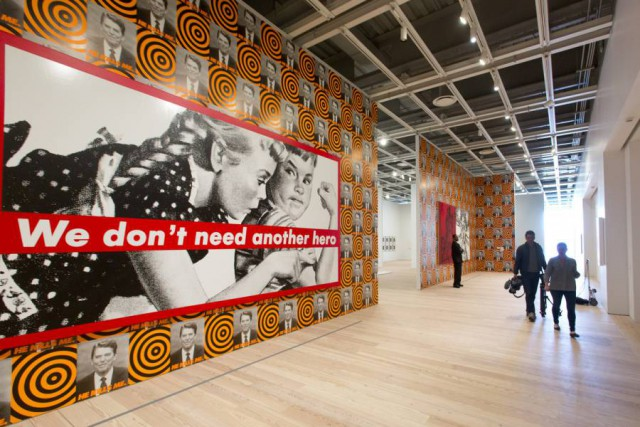 "16. Barbara Kruger' - ""We Don't Need Another Hero"""