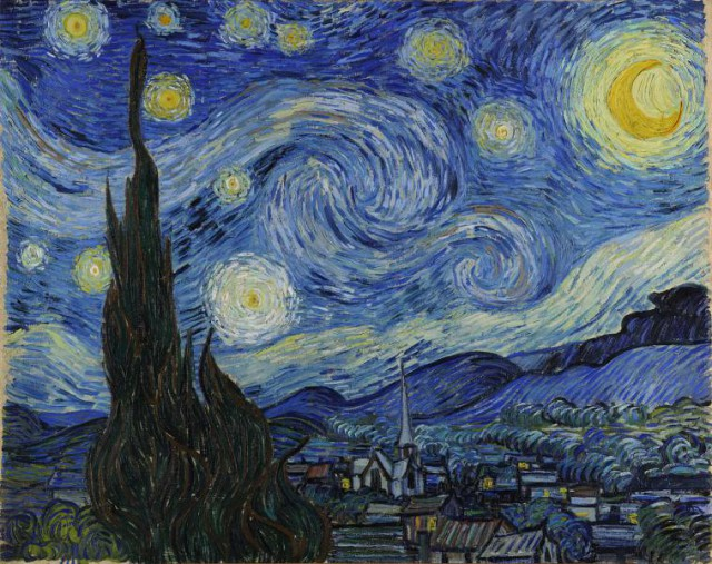 "2. Vincent van Gogh - ""Starry Night"""