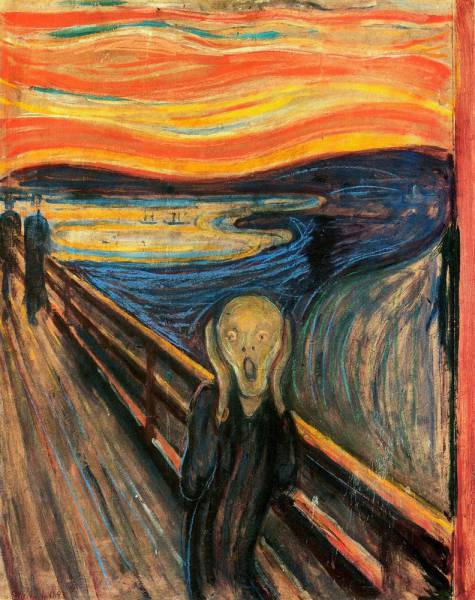 "3. Edvard Munch - ""The Scream"""