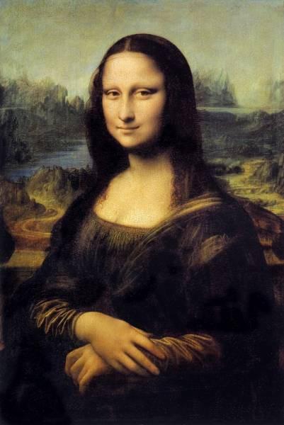 "5. Leonardo da Vinci - ""Mona Lisa"""