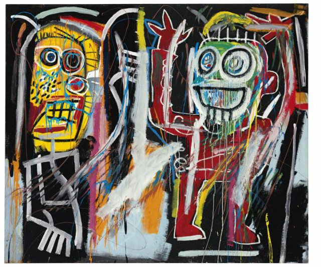 "6. Jean-Michel Basquiat - ""Dustheads"""