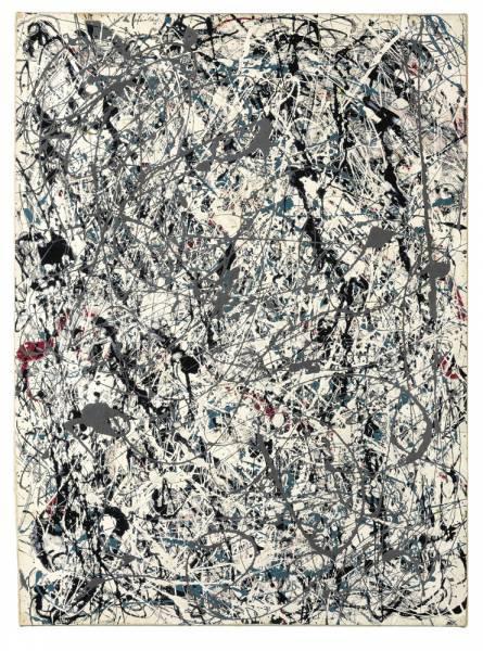 "8. Jackson Pollock' - ""Number 19"""
