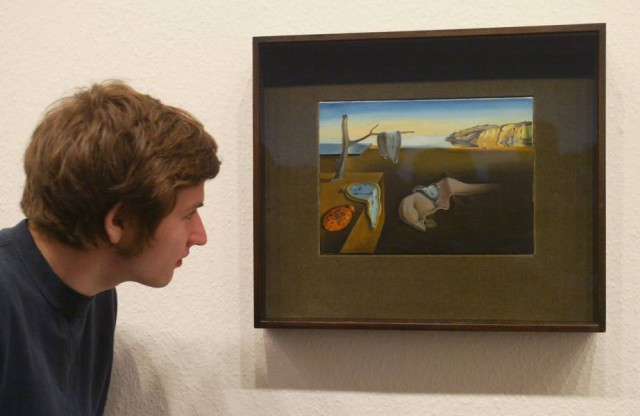 "9. Salvador Dali - ""The Persistence of Memory"""