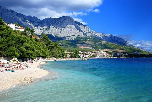 Baska Voda Beach - Baska Voda, Κροατία