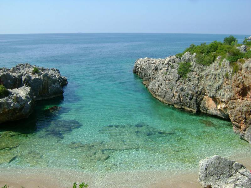 Himara Beach, Χειμάρα Αλβανίας